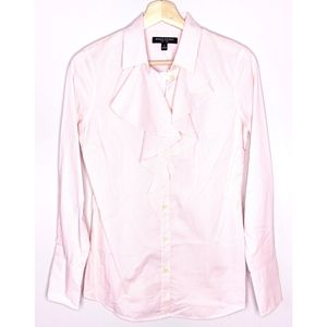 Banana Republic Pink Striped Riley Blouse - 2